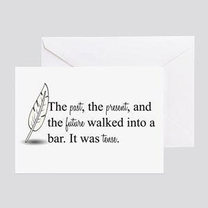 It Was Tense Greeting Cards (Pk of 10)