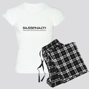 Sassenach w/definition Women's Light Pajamas