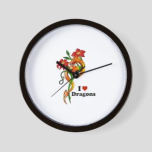 Dragon Dance Wall Clock