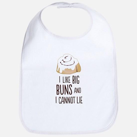 I Like Big Buns Baby Bib