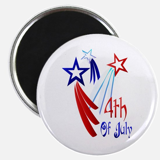 "4th Of JULY 2.25"" Magnet (10 pack)"