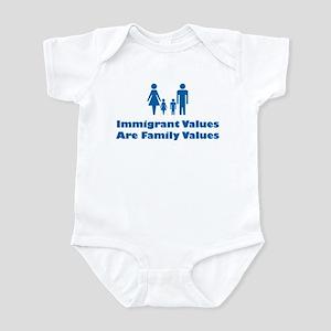 Immigrant Values Infant Creeper