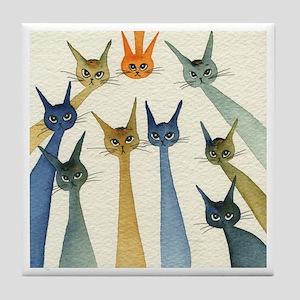 Waldorf Stray Cats Coaster