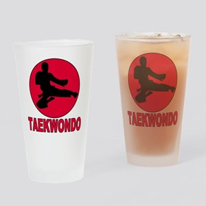 Taekwondo Pint Glass