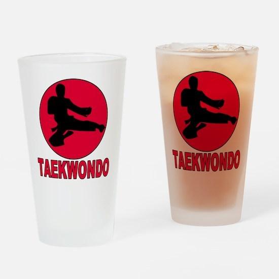 Taekwondo Pint Glass