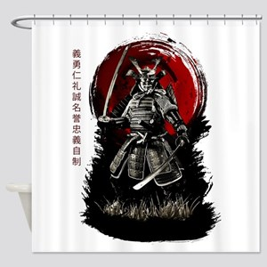 Bushido Samurai Shower Curtain