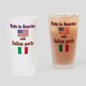 Italian american made Pint Glass