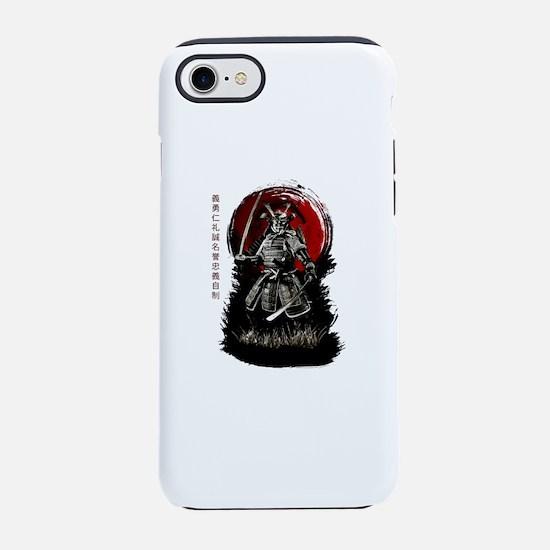 Bushido Samurai iPhone 7 Tough Case