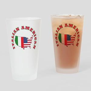 Italian american Pint Glass