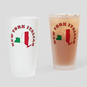 New York Italian Pint Glass