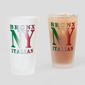 Bronx New york Italian Pint Glass