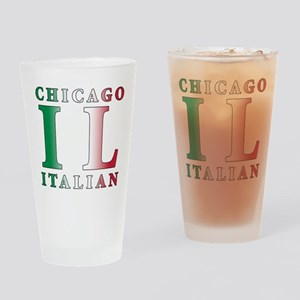 Chicago Italian Pint Glass