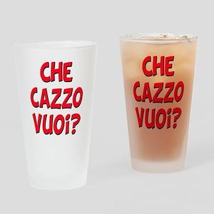 italian Che Cazzo Vuoi Pint Glass