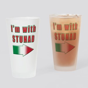 Italian I'm with Stunad Pint Glass