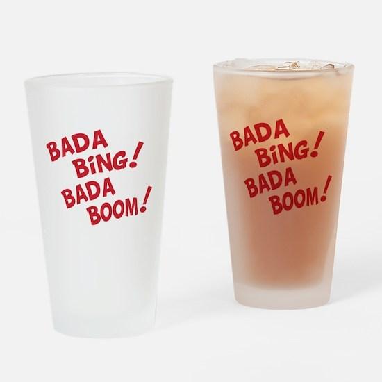 Bada Boom Pint Glass