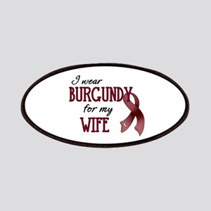 Wear Burgundy - Wife Patches