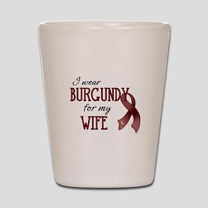 Wear Burgundy - Wife Shot Glass