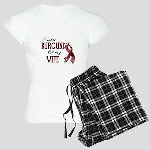 Wear Burgundy - Wife Women's Light Pajamas