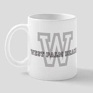 Letter W: West Palm Beach Mug