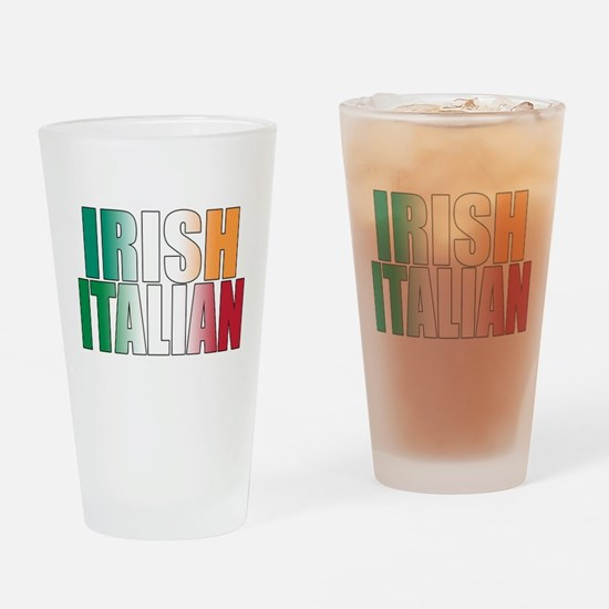 Irish Italian Pint Glass