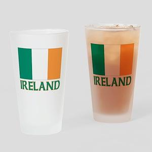 Irish flag Pint Glass