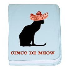Cinco de Meow baby blanket