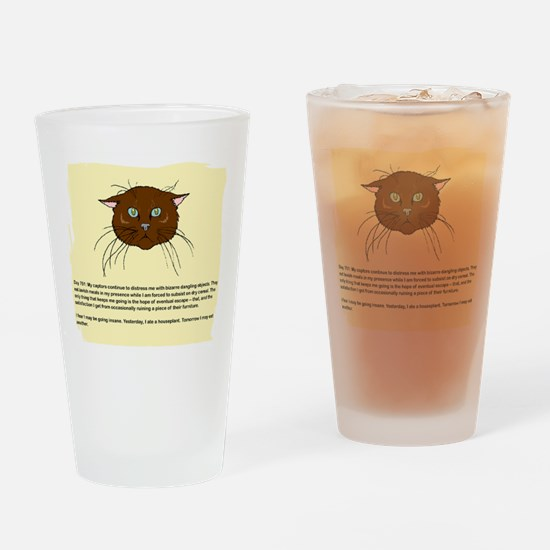 The Cat's Diary Pint Glass