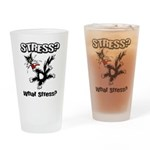 Stressed Cat Pint Glass