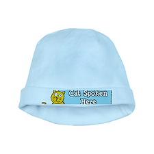 Cat Spoken Here baby hat