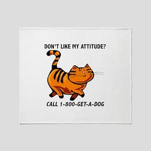 1-800-GET-A-DOG Throw Blanket