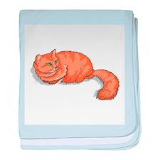 Ginger Cat baby blanket