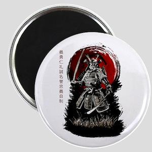 Bushido Samurai Magnets