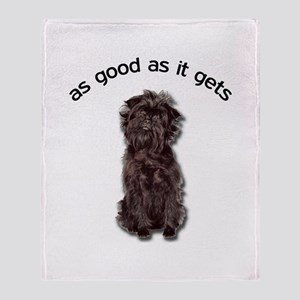 Good Affenpinscher Throw Blanket