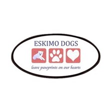 Eskimo Dog Lover Patches