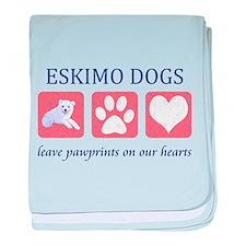 Eskimo Dog Lover baby blanket