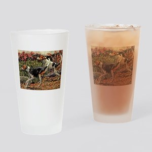 American Foxhound Art Pint Glass