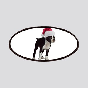 Boston Terrier Christmas Patches