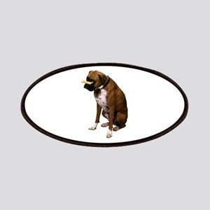 Brindle Boxer Photo Patches