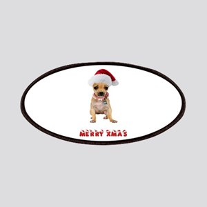 Christmas Chihuahua Patches