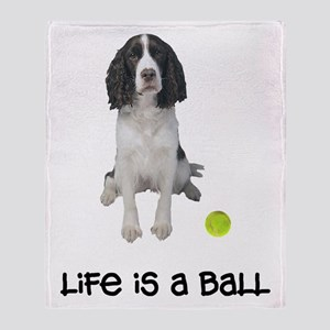 Springer Spaniel Life Throw Blanket