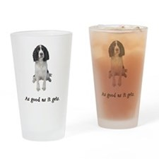 Good Springer Spaniel Pint Glass