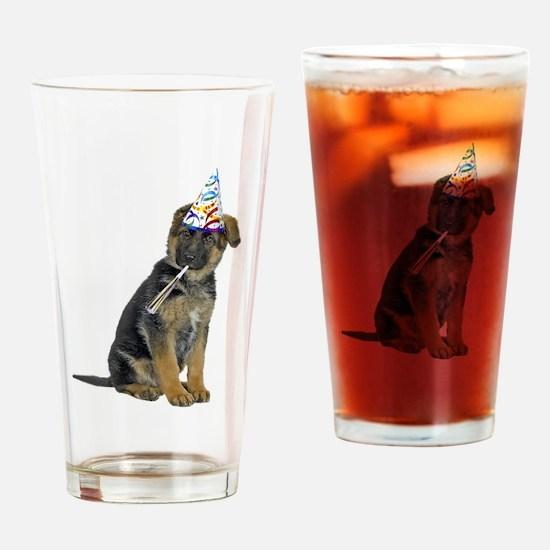 German Shepherd Party Pint Glass