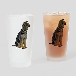 German Shepherd Puppy Pint Glass