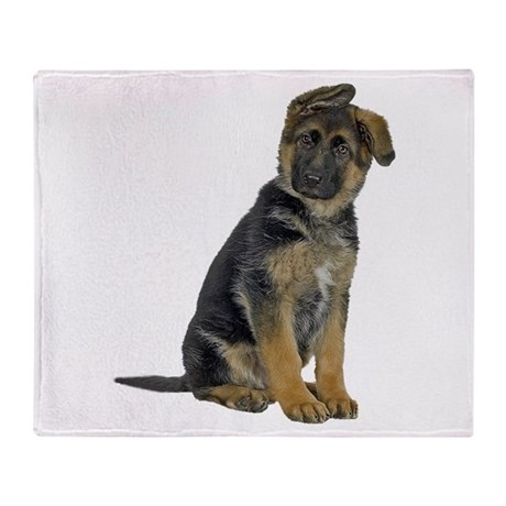 german shepherd blanket german shepherd puppy throw blanket by cafepets 7422