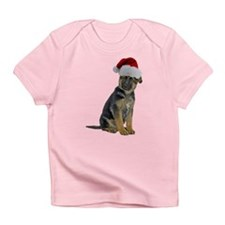 German Shepherd Xmas Infant T-Shirt