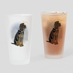Angel German Shepherd Puppy Pint Glass