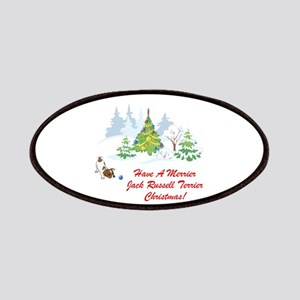 Jack Russell Terrier Xmas Patches