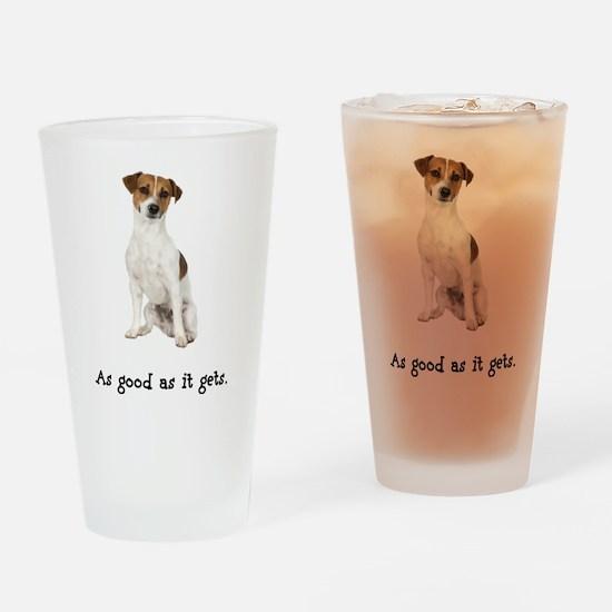 Good Jack Russell Terrier Pint Glass