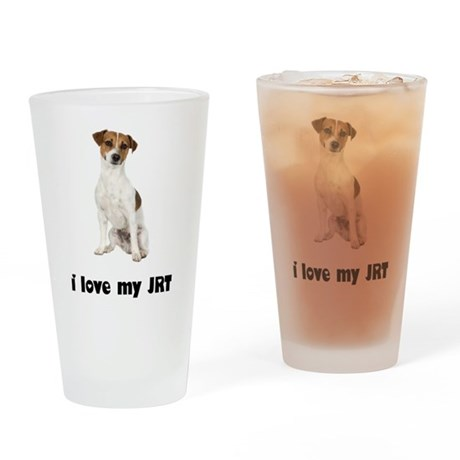 Jack Russell Terrier Lover Pint Glass