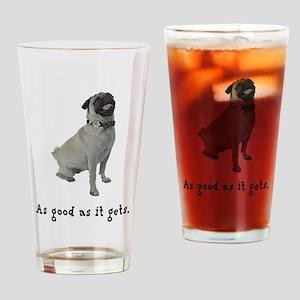 Good Pug Pint Glass